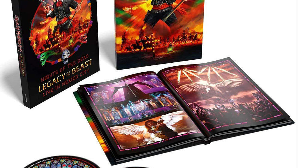 Iron Maiden NIGHTS OF THE DEAD – LEGACY OF THE BEAST: LIVE IN MEXICO CITY