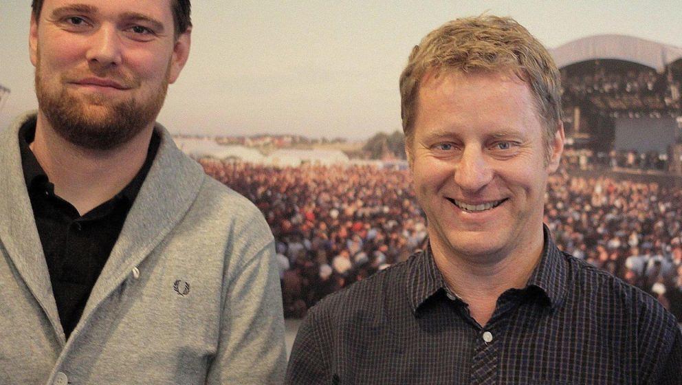 Stephan Thanscheidt (links) und Folkert Koopmans von FKP Scorpio