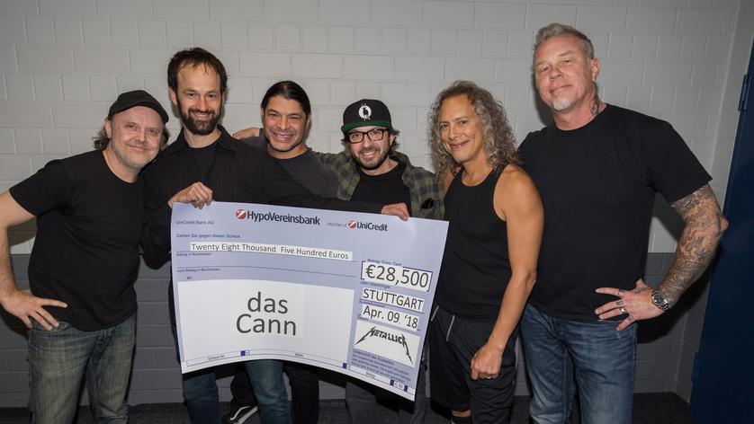 Hilfe weltweit: 2018 spenden Metallica an ein Stuttgarter Jugendhaus
