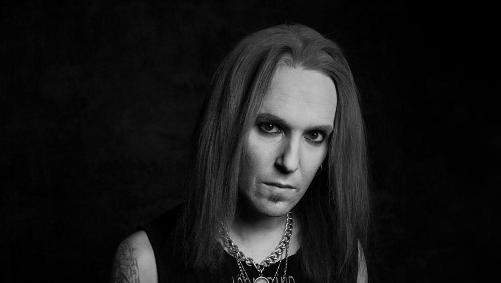 Guitarist Alexi Laiho from Bodom After Midnight at a promo shoot. March 1st, 2020, Helsinki Finland. Photo by Terhi Ylimäine
