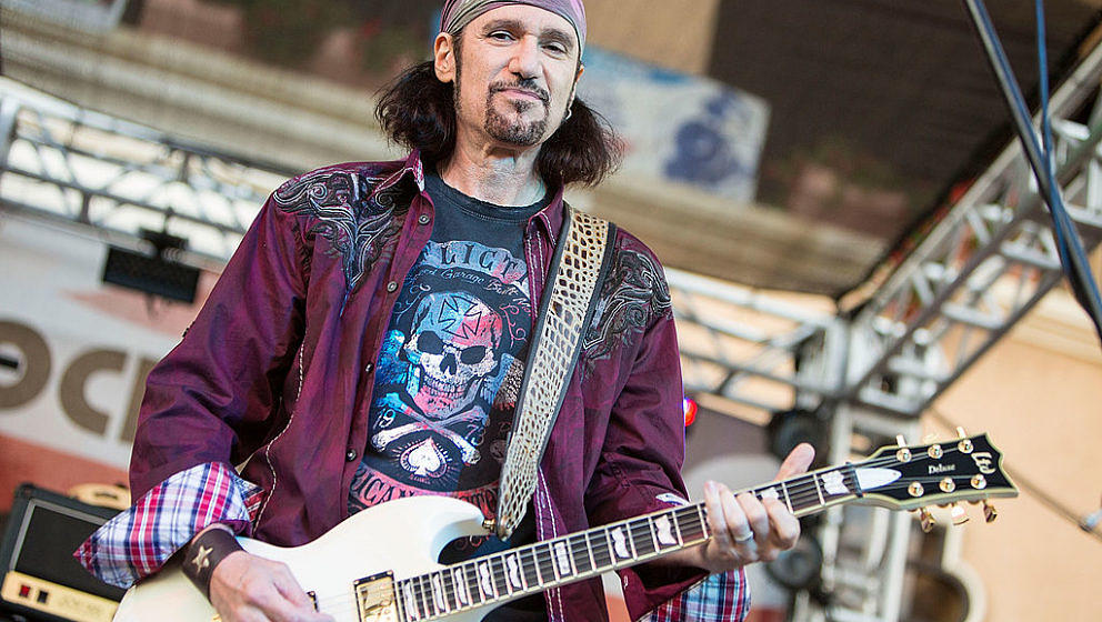 Bruce Kulick mit Grand Funk Railroad im San Diego County Fair am 5. Juli 2014 in Del Mar, Kalifornien