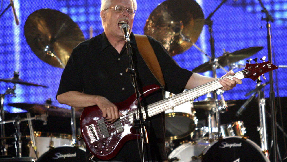 Tim Bogert of Vanilla Fudge during VH1 Classic Presents 'Decades Rock Live: A Tribute to the Doors' - August 5, 2005 at Trump
