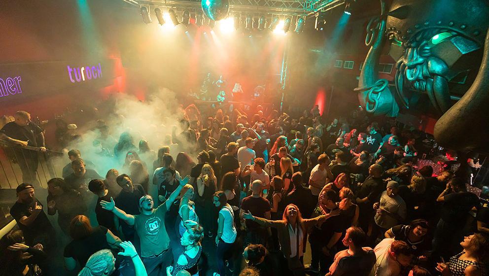 Erinnerung an bessere Zeiten: Party im Turock