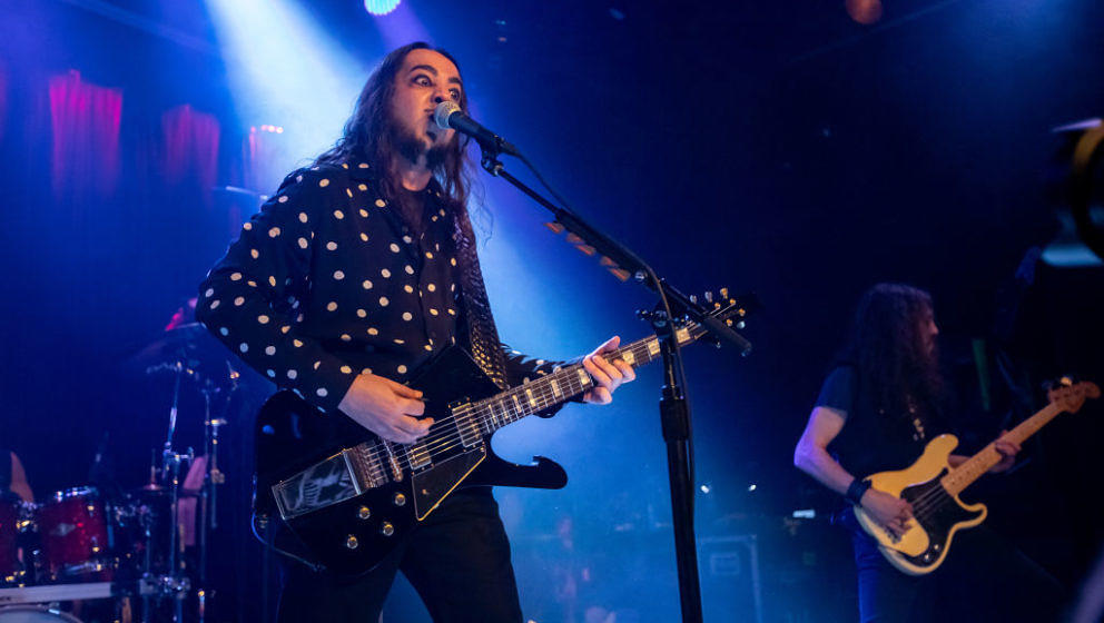 SAN FRANCISCO, CALIFORNIA - MARCH 06: Daron Malakian and Scars on Broadway performs at Slim's on March 06, 2019 in San Franci