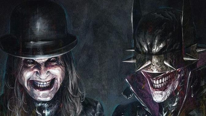 Ozzy Osbourne und Batman auf ihrem gemeinsamen Comic-Titelbild