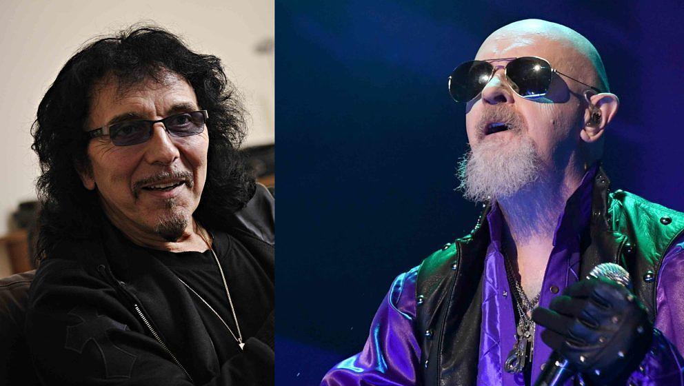 Wollen in absehbarer Zeit miteinander Musik machen: Tony Iommi (l.) und Rob Halford