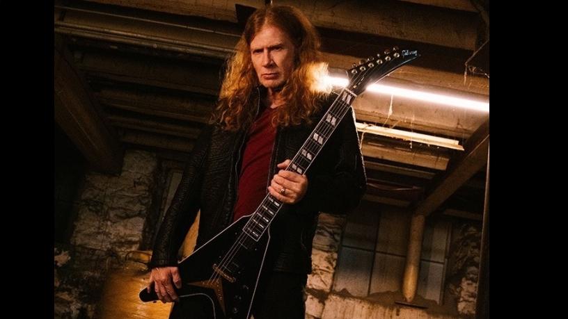 Dave Mustaine präsentiert eines seiner neuen Gibson-Babys