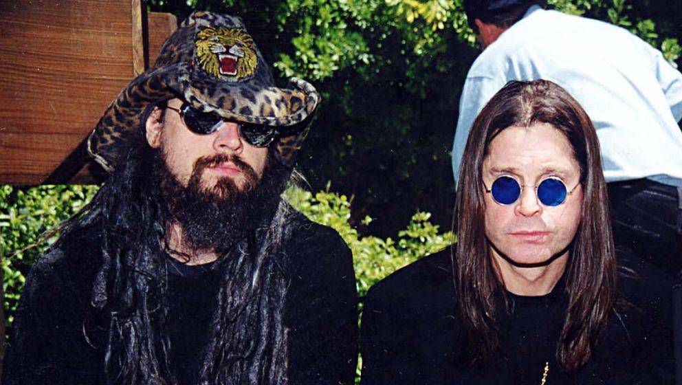 Rob Zombie und Ozzy Osbourne bei einer Star Wars Party von MTV irgendwann Anfang der Nuller Jahre