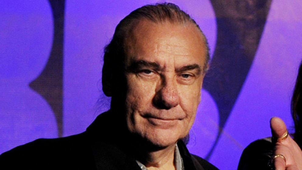 Bill Ward bei der Black Sabbath-Pressekonferenz 2011 zum letzten Album 13