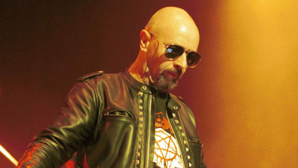 Judas Priest-Frontmann Rob Halford bei einem Konzert im Jahr 2000 in Las Vegas