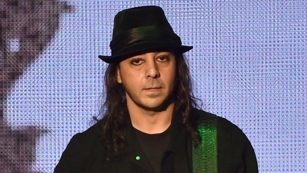 Daron Malakian bei einer System Of A Down-Show im Dezember 2014 in Inglewood