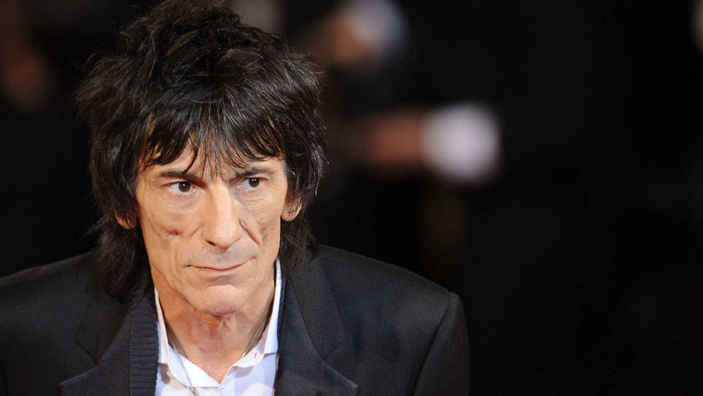 Ronnie Wood 2011 beim Film-Festival in Cannes