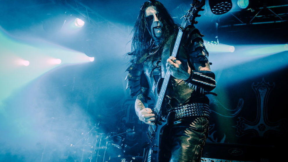Aalborg, Danmark. 11th, November 2017. The Swedish black metal band Dark Funeral performs a live concert at the Danish metal