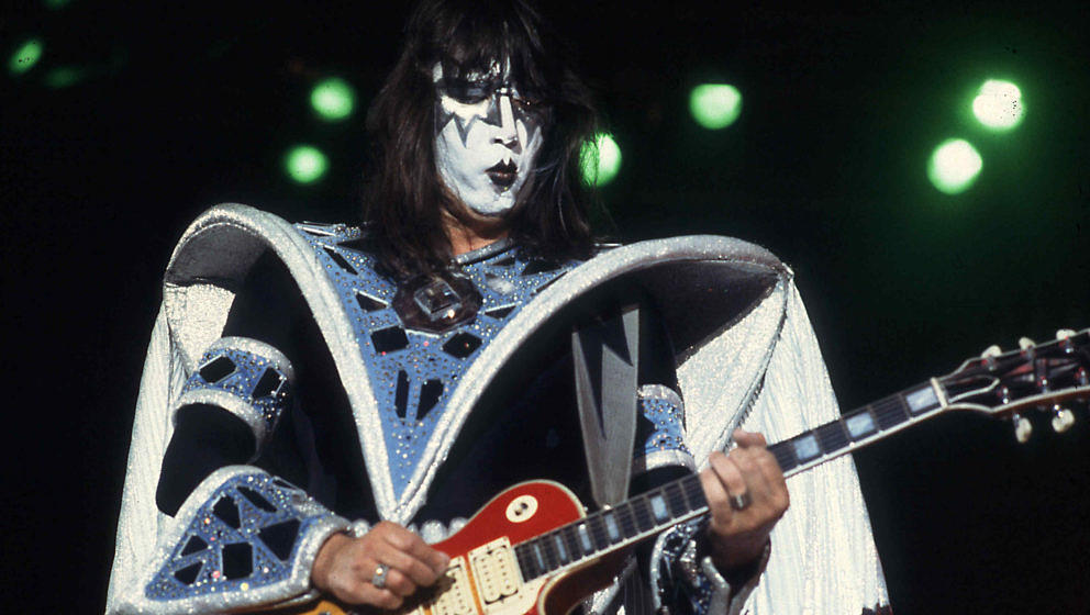 Ace Frehley bei einer Kiss-Show am 22. September 1979 in Chicago