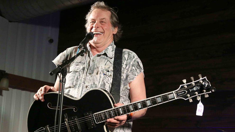 Ted Nugent bei einem Auftritt am 26. März 2021 in Waco, Texas