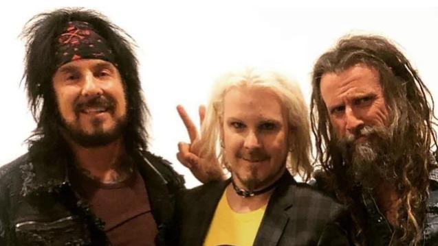 Nikki Sixx, John 5, Rob Zombie (v.l.) sind zusammen mit Tommy Clufetos die L.A. Rats