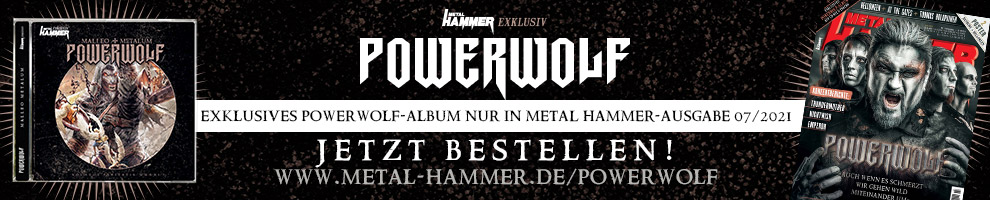 Exklusives Powerwolf-Album nur in METAL HAMMER 07/2021