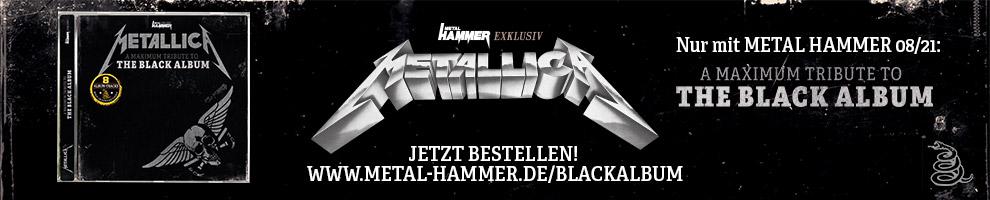 Exklusives Metallica-Album nur in METAL HAMMER 08/2021