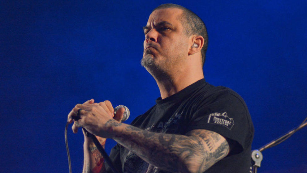TOLUCA, MEXICO - MARCH 14: Phil Anselmo and the ilegals performs on stage during first day of Hell And Heaven 2020 on March 1