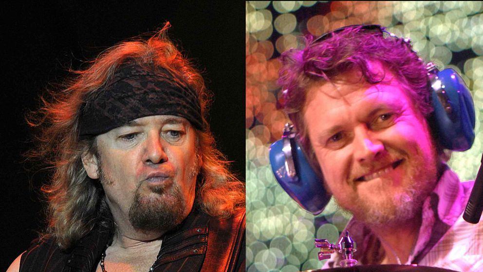 Iron Maiden-Gitarrist Adrian Smith hatte es Def Leppard-Drummer Rick Allen angetan