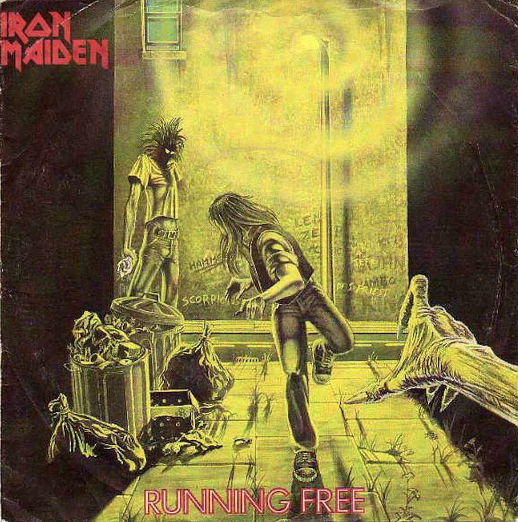 Iron Maidens erste Single 'Running Free'.