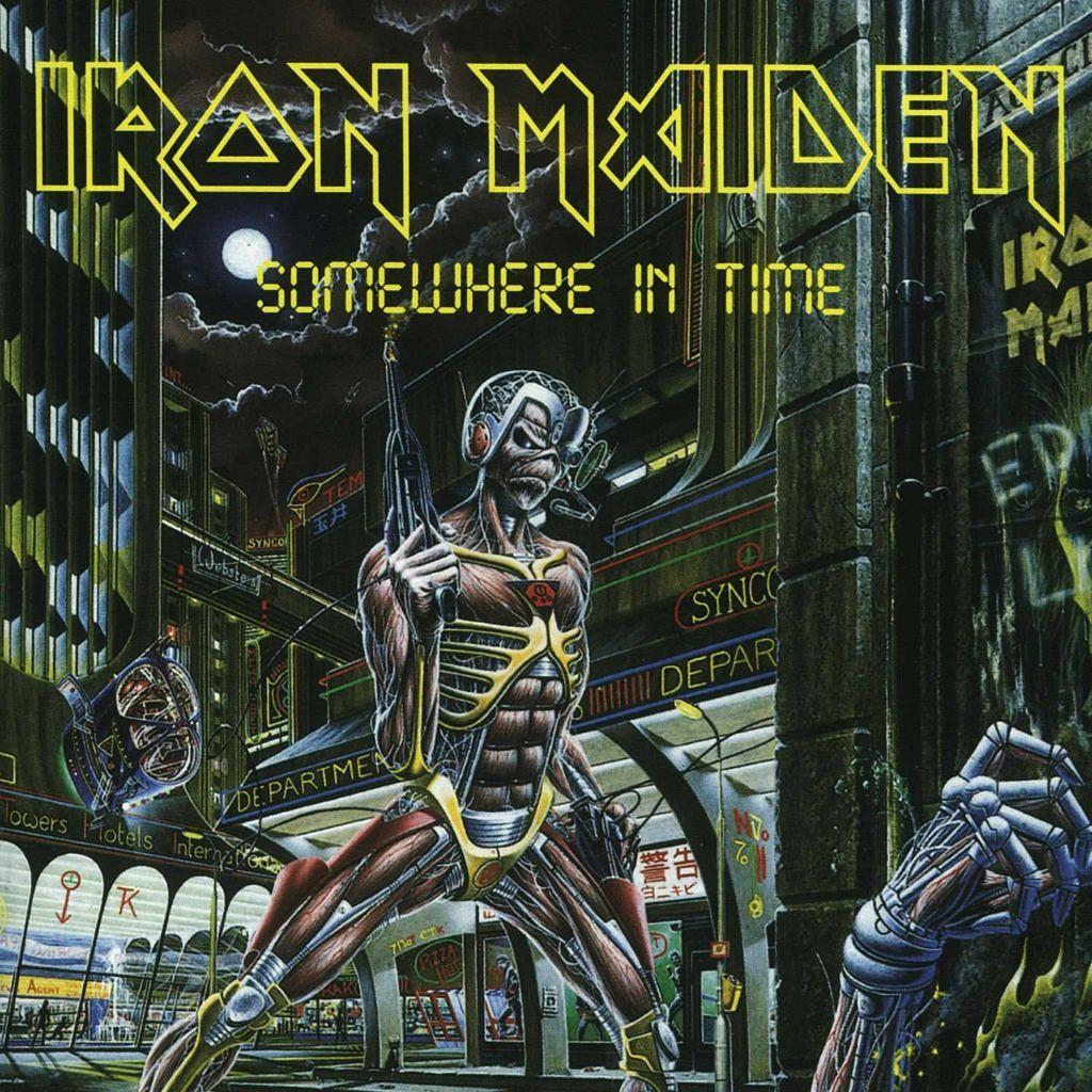 'Somewhere In Time' erschien im Jahr 1986.
