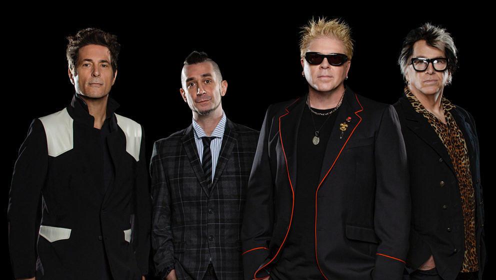 Pete Parada (zweiter von links) ist nicht länger Teil von The Offspring