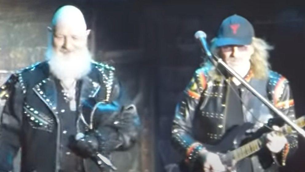 Rob Halford (l.) und Glenn Tipton von Judas Priest beim Bloodstock Open Air 2021