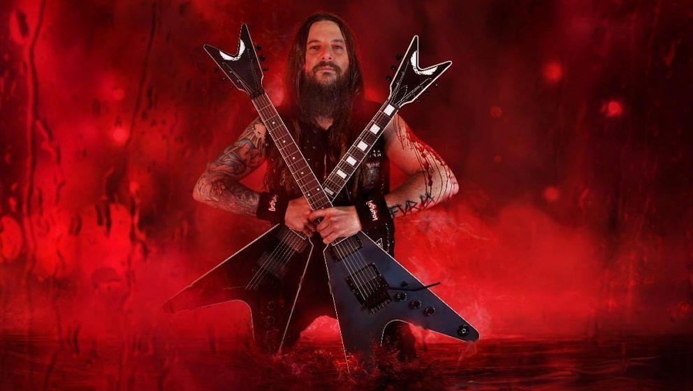Der neue Destruction-Gitarrist Martin Furia