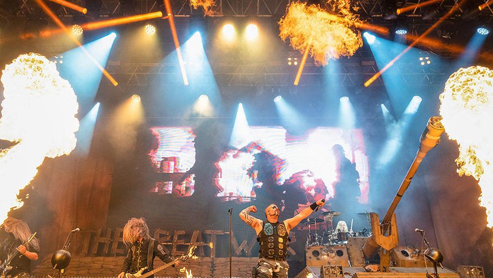 Sabaton, Rock Castle Festival 2021, Tschechien, Krumlov