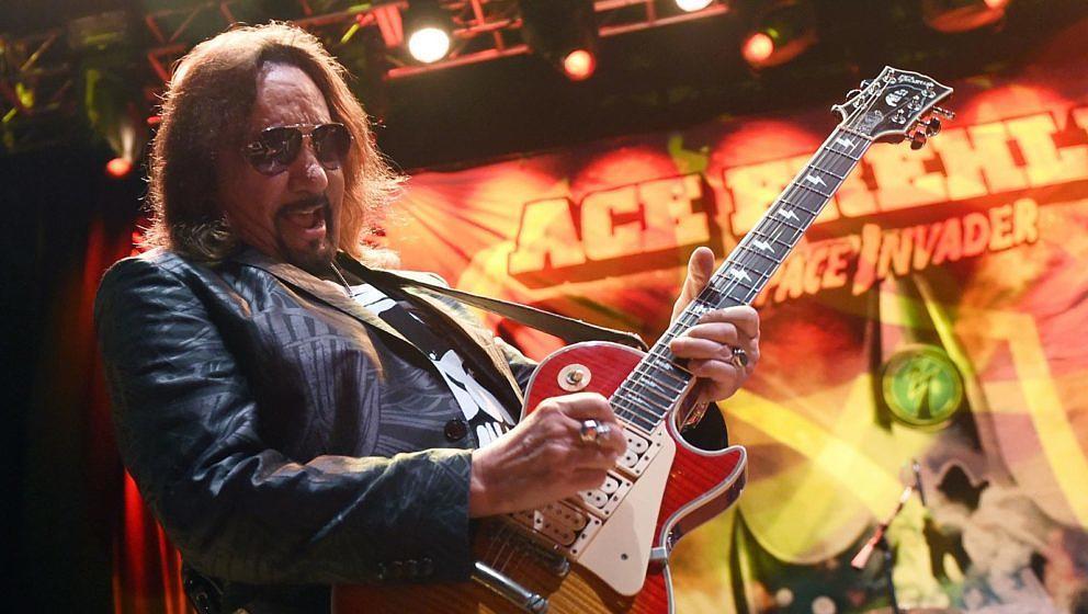 Ex-Kiss-Gitarrist Ace Frehley in der Brooklyn Bowl Las Vegas, 6. März 2016