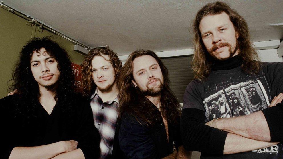 Metallica 1992 in der BLACK ALBUM-Besetzung