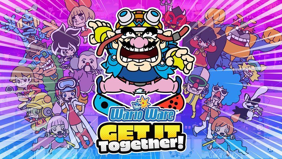 WarioWare: Get It Together! (Artwork)