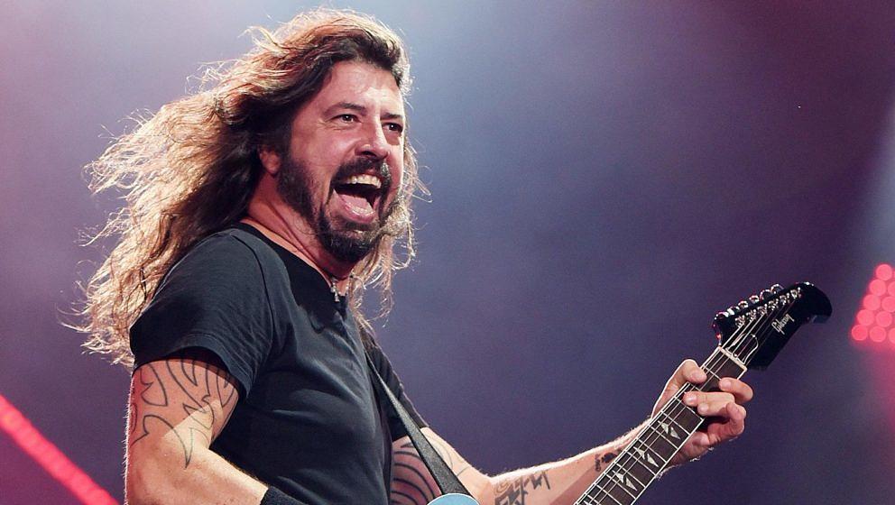 Dave Grohl 2018 bei einem Foo Fighters-Konzert in Quebec City