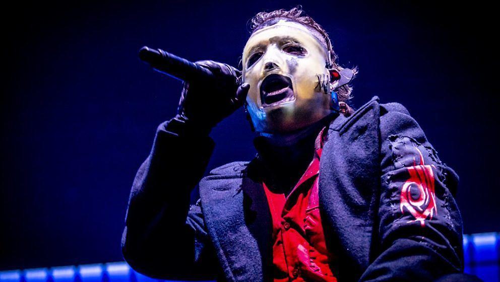 Corey Taylor mit Slipknot im Februar 2020 in Mailand