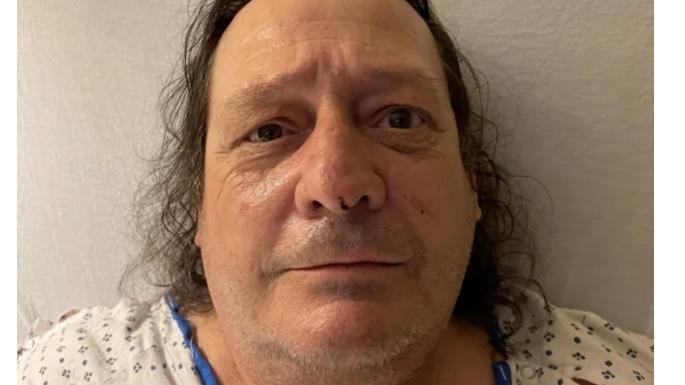 Das Polizeifoto Jon Oliva von Savatage