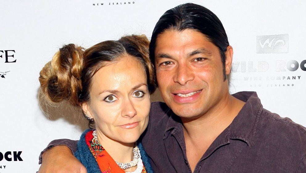 Chloe Trujillo und ihr Gatte Robert von Metallica