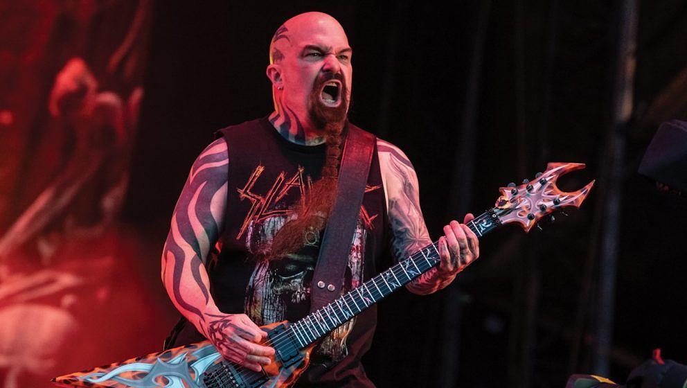 Slayer-Gitarrist Kerry King 2019 beim Download Festival in Donington Park