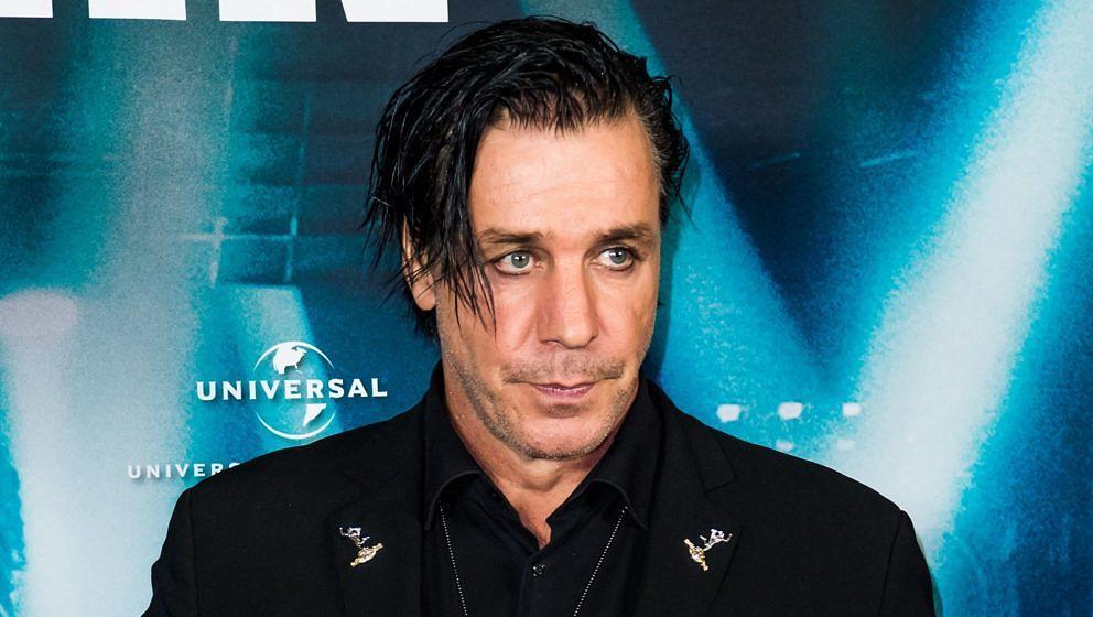 Till Lindemann bei der Weltpremiere von 'Rammstein: Paris' 2017 in Berlin