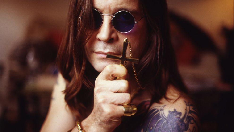 Ozzy Osbourne, portrait, London , United Kingdom, 1991. (Photo by Martyn Goodacre/Getty Images)