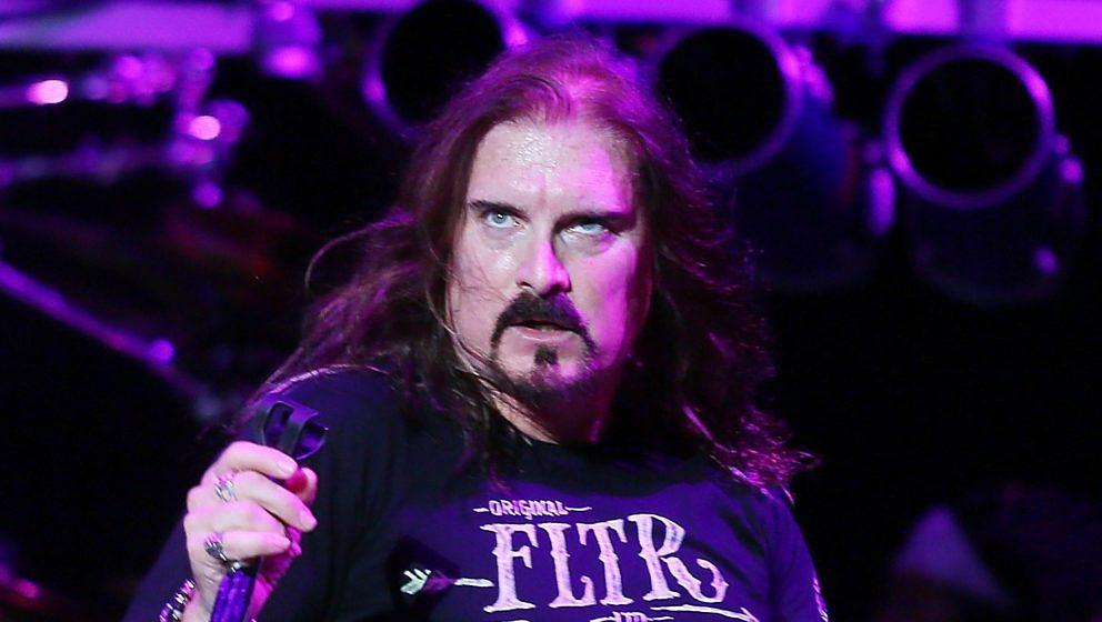 James LaBrie 2015 mit Dream Theater in Rom
