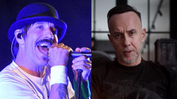 Red Hot Chili Peppers-Frontmann Anthony Kiedis und Behemoth-Boss Nergal